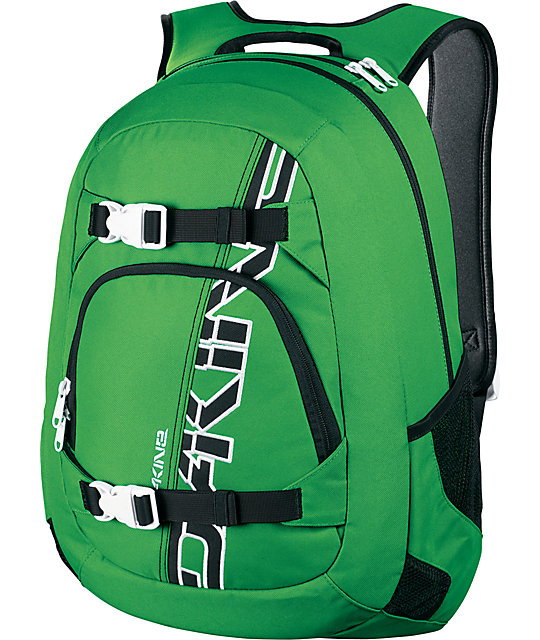 Dakine Explorer Green Skate Backpack