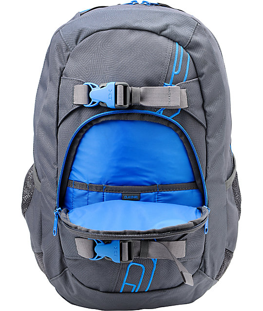Dakine Explorer Grey Stencil Skate Backpack