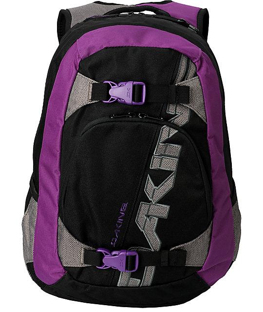 Dakine Explorer Purple Twill Skate Backpack