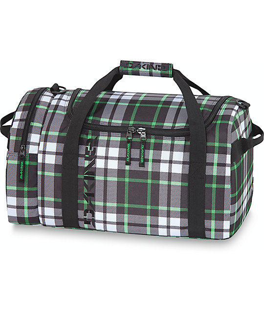Dakine Fremont Plaid EQ Medium 51L Duffel Bag