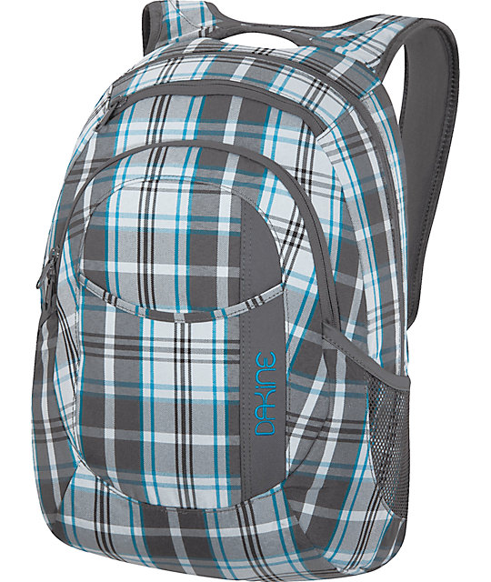Dakine Garden Dylon Plaid Laptop Backpack