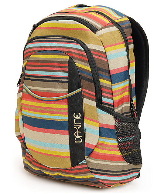 Dakine Garden Juno Stripe Laptop Backpack