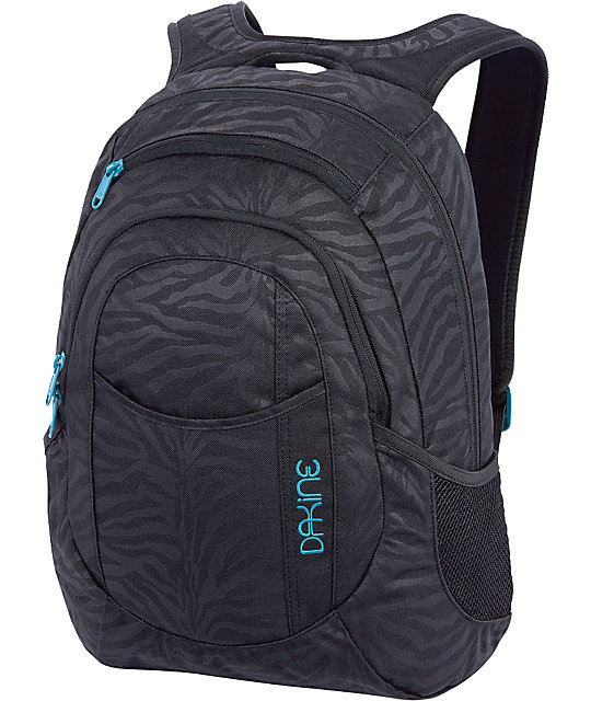 Dakine Garden Zebra Black Backpack