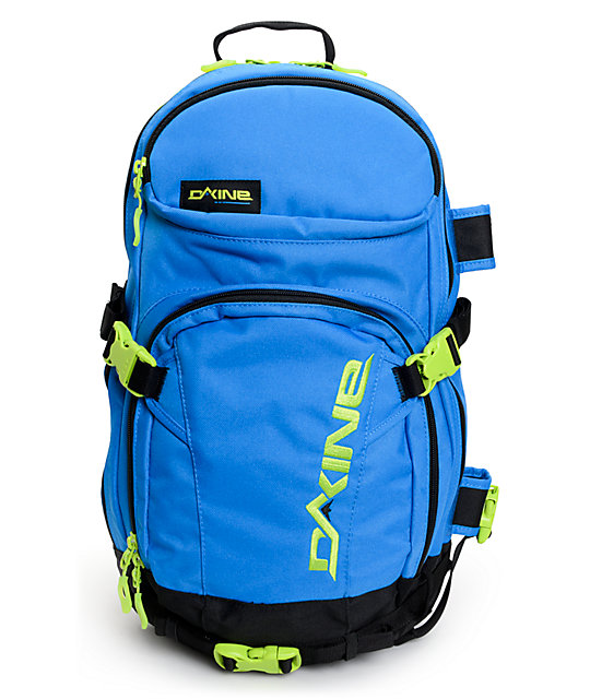 Dakine Heli Pro 20L Blue & Green Pacific Backpack | Zumiez