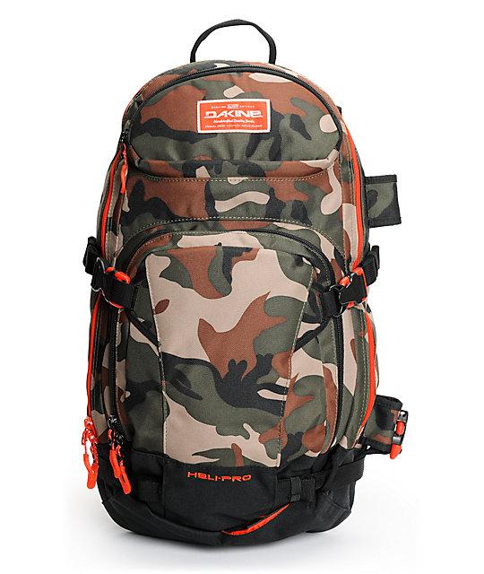 Dakine Heli Pro Camo 20L Backpack | Zumiez