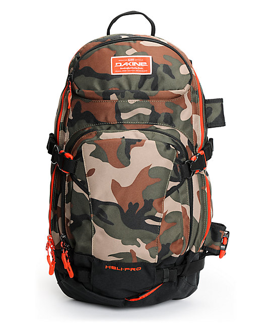 Dakine Heli Pro Camo 20L Backpack at Zumiez : PDP