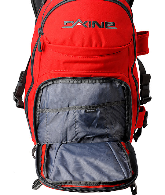 Dakine Heli Pro Red Backpack