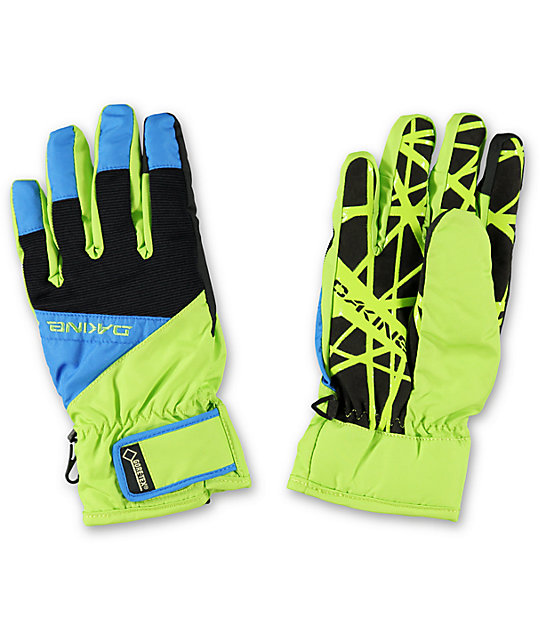 Dakine Impreza Pacific Lime Green Snowboard Gloves