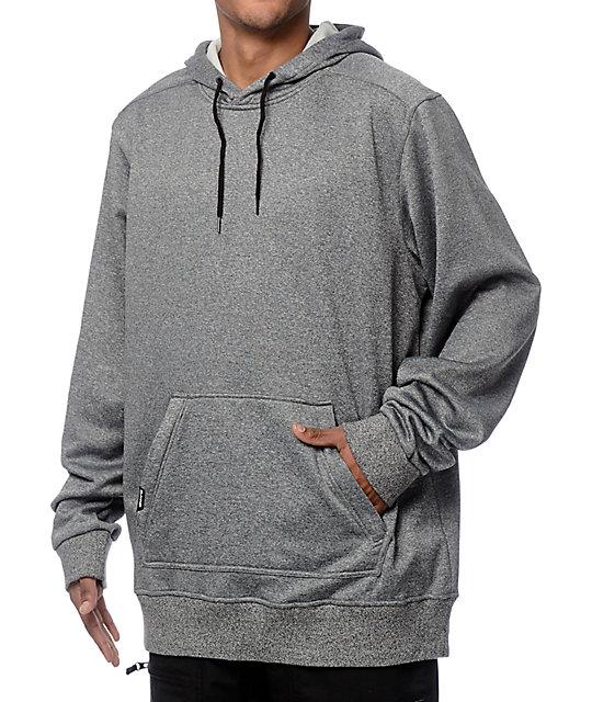 Dakine Ironside Tech Fleece Grey Hoodie