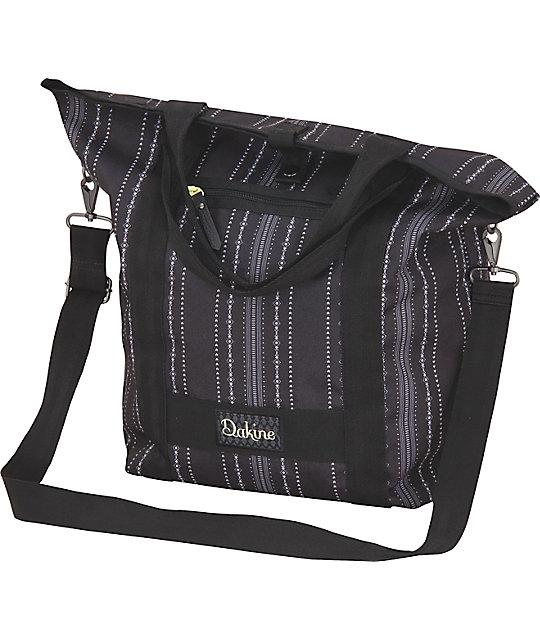 Dakine Kelsey Vienna Black Tote Bag