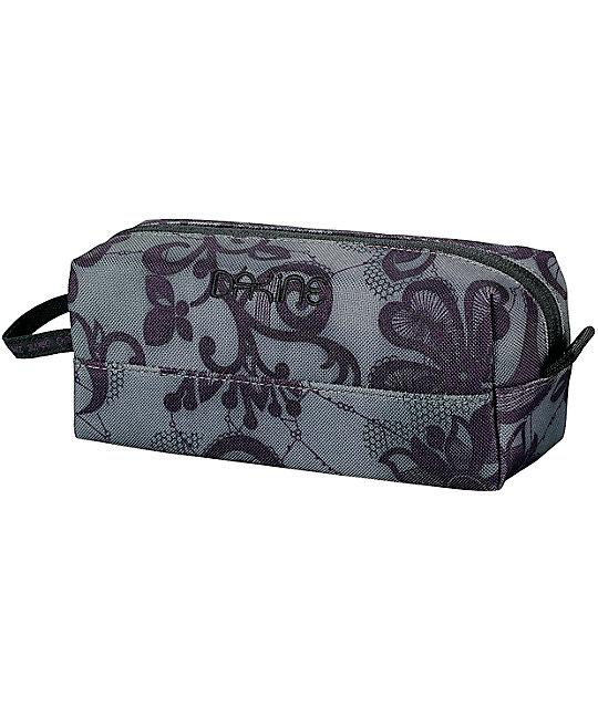 Dakine Lacy Grey & Purple Accessory Case