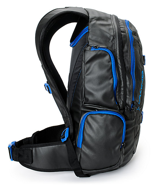 Dakine Mission 25L Blackout & Blue Backpack