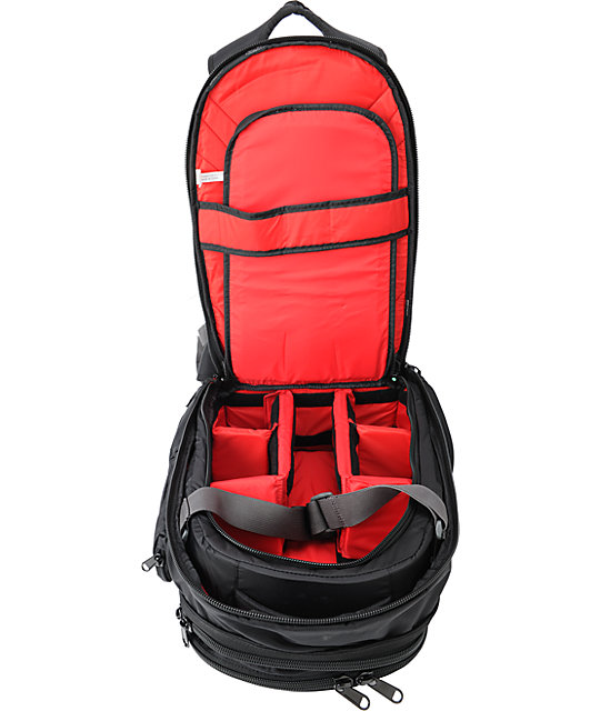 Dakine Mission Black Photo Backpack