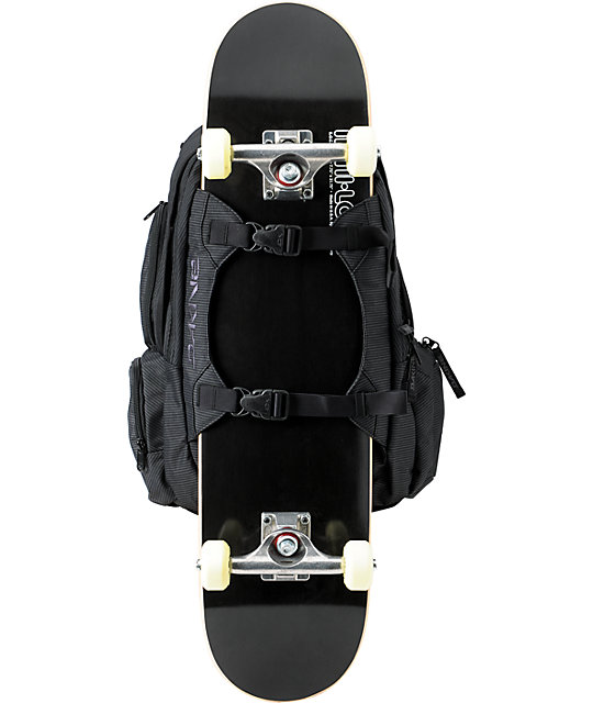 Dakine Mission Black Stripe Skate Backpack