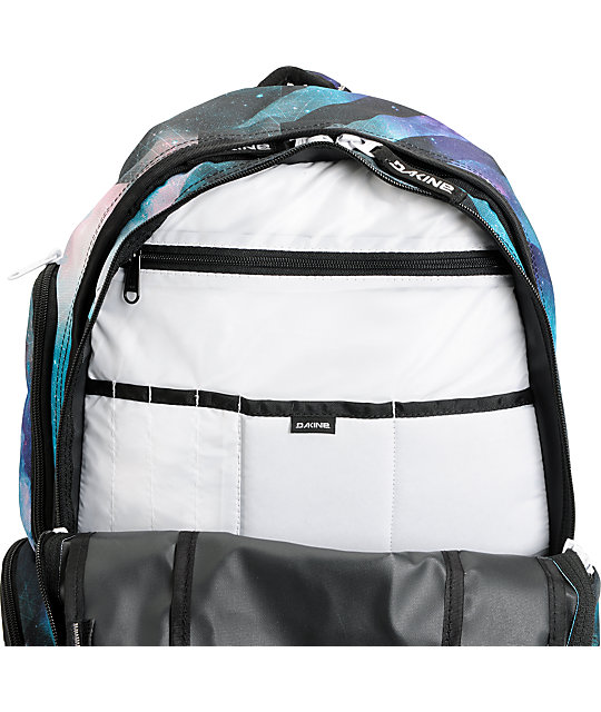 Dakine Mission Nebula Space Print Laptop Backpack
