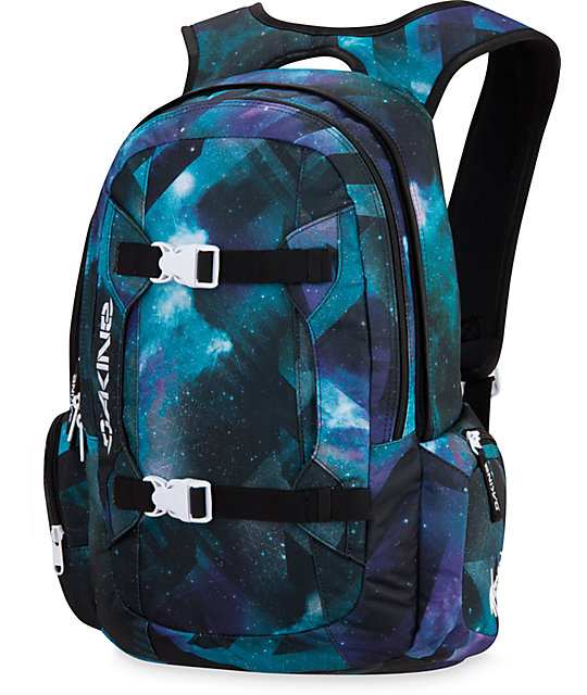 Dakine Mission Nebula Space Print Laptop Backpack | Zumiez