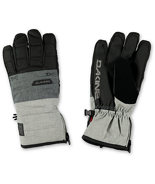 Dakine Omega Mens Black & Grey Carbon Gloves