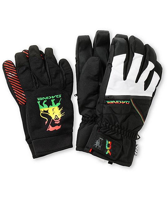 Dakine Pantera Rasta Snowboard Gloves
