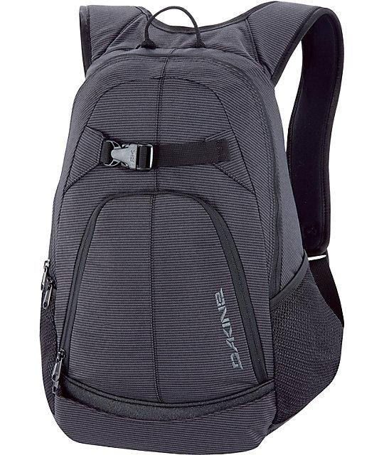 Dakine Pivot Black Stripes Skate Skate Backpack