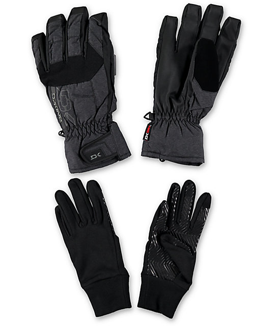 Dakine Scout Mens Anthracite Snowboard Gloves