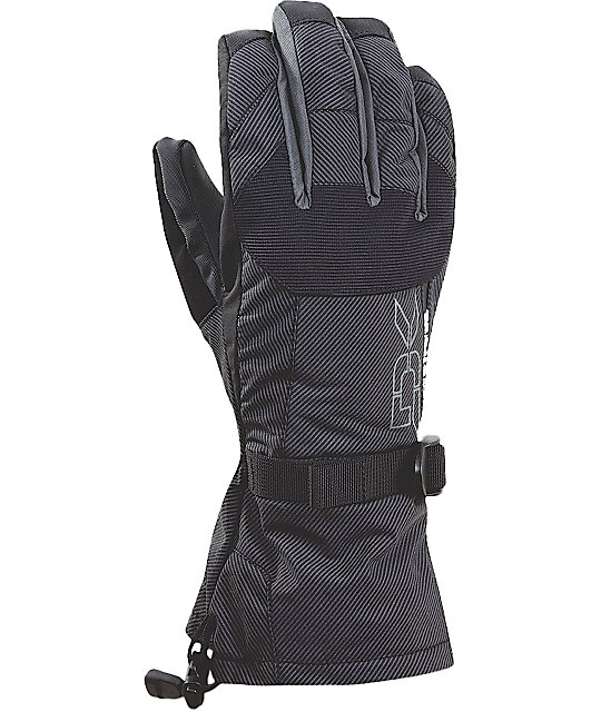 Dakine Scout Mens Black Stripe Gloves