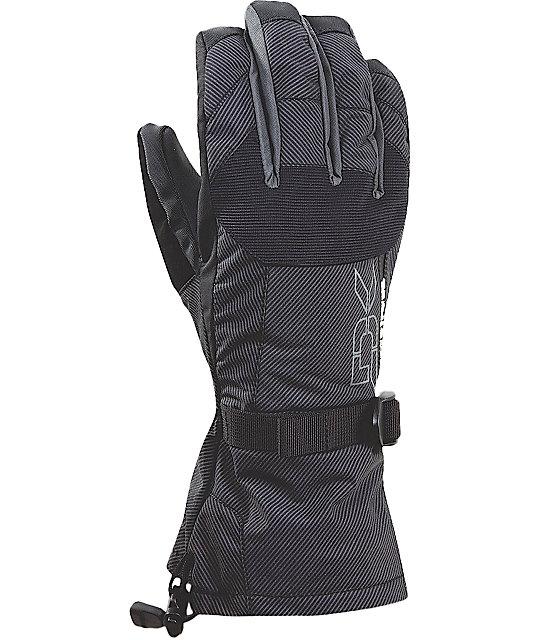 Dakine Scout Mens Black Stripe Gloves