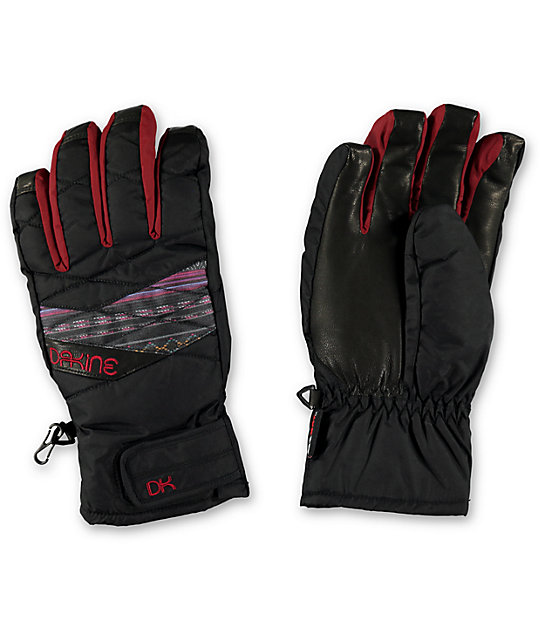 Dakine Tahoe Short Vera Womens Snowboard Gloves