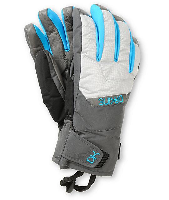 Dakine Tahoe Silver Houndstooth Womens Snowboard Gloves