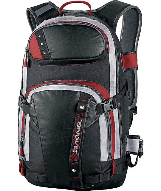 Dakine Team Heli Pro Pettit Black Snow Backpack