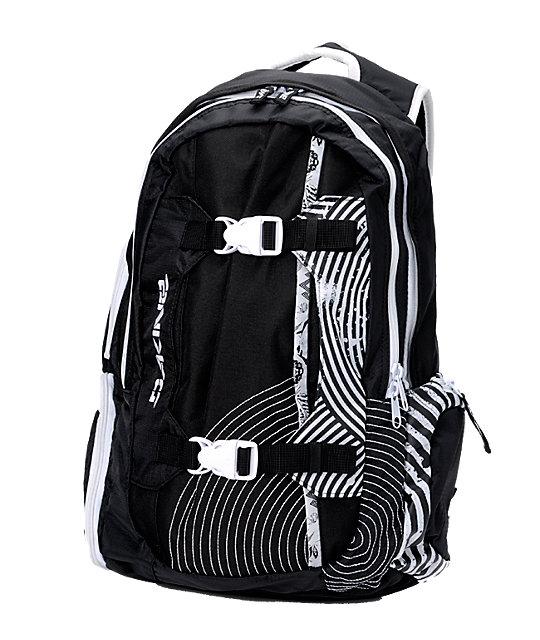 Dakine Team Mission Black & White Pack