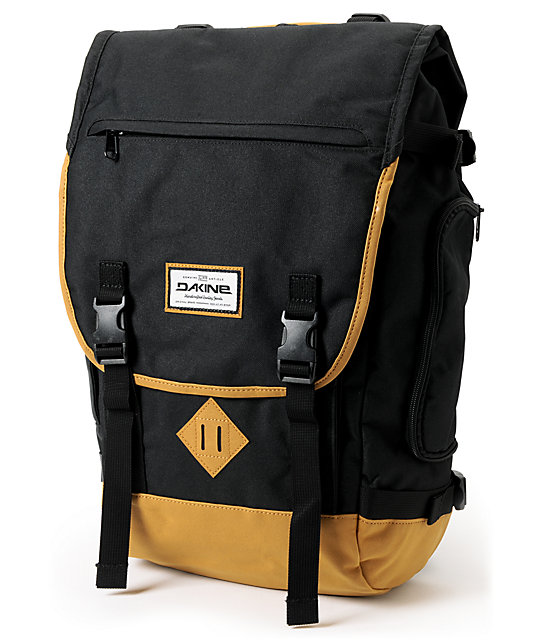 Dakine Vault Black Laptop Backpack | Zumiez
