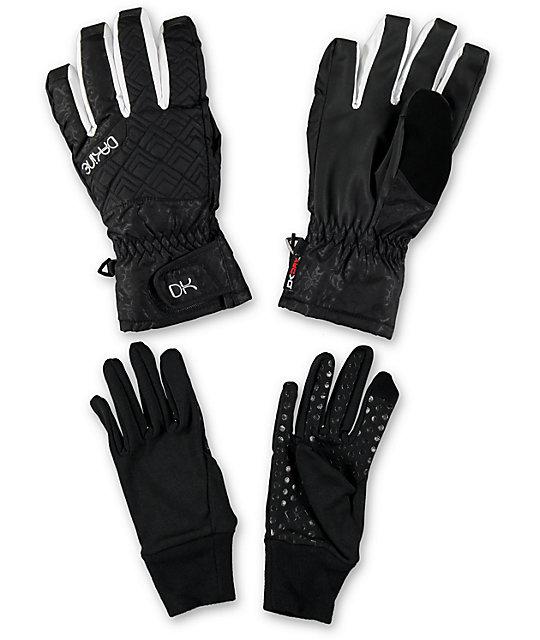 Dakine Womens Camino Glove Obsidian Black Snowboard Glove