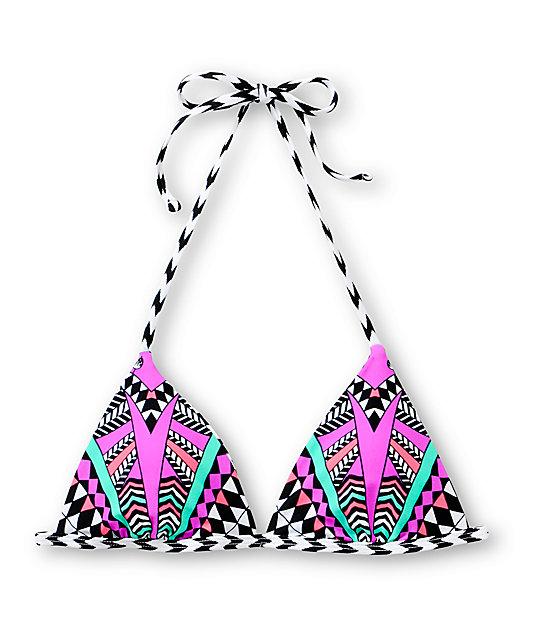 Damsel Jungle Book Reversible Triangle Bikini Top