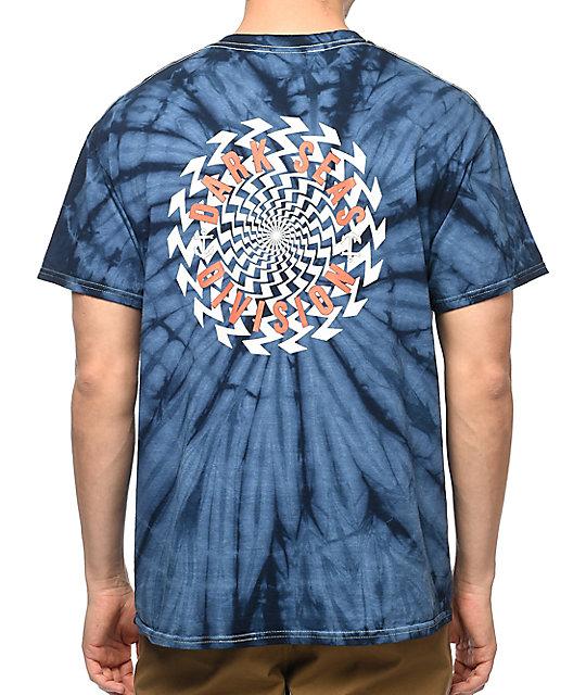Dark Seas Drained Navy Tie Dye T-Shirt