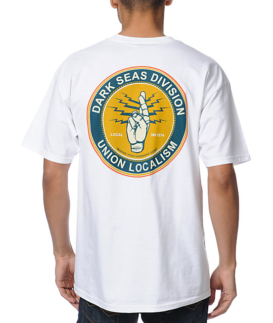Dark Seas Local 74 White T-Shirt