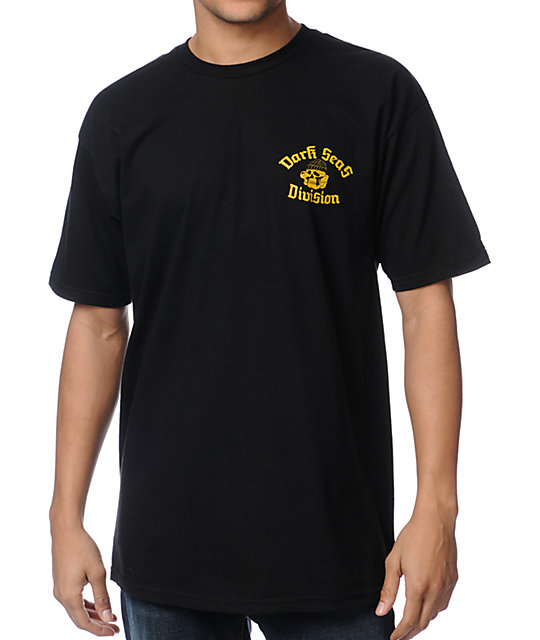 Dark Seas The Dock Black T-Shirt