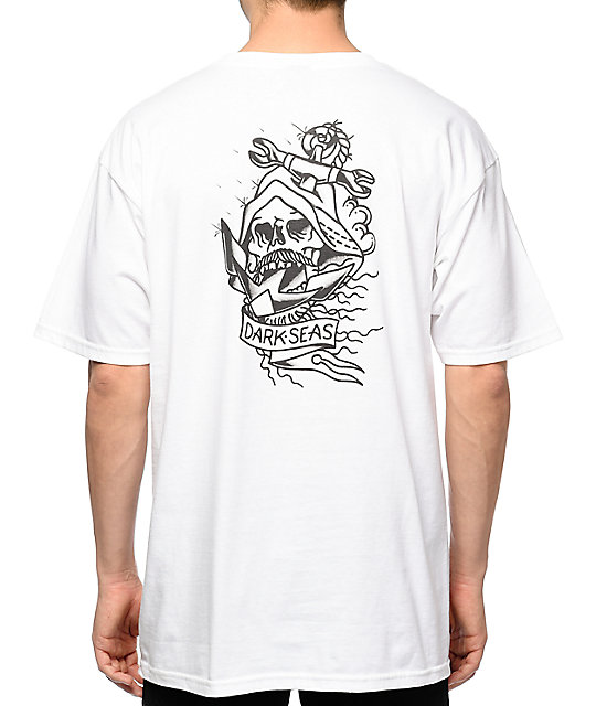 Dark Seas Vanish II White T-Shirt
