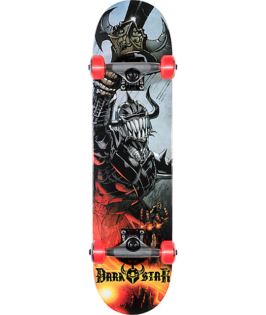 "Darkstar Blast Youth Mid 7.3""  Complete Skateboard"
