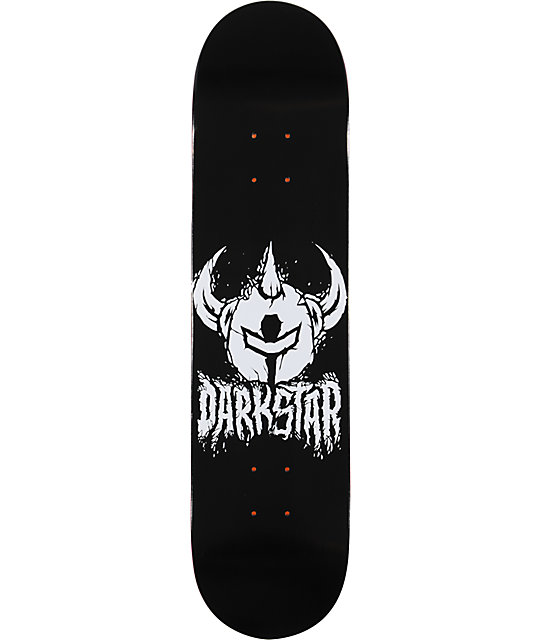 "Darkstar Icon Stacks Black & White 7.75""  Skateboard Deck"