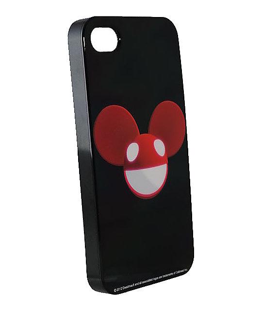 Deadmau5 Black & Red iPhone 4 Case