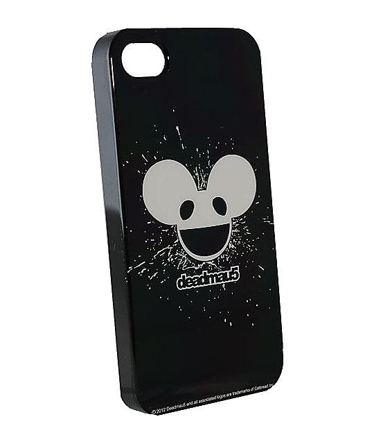 Deadmau5 Black & White Glow In The Dark iPhone 4 Case