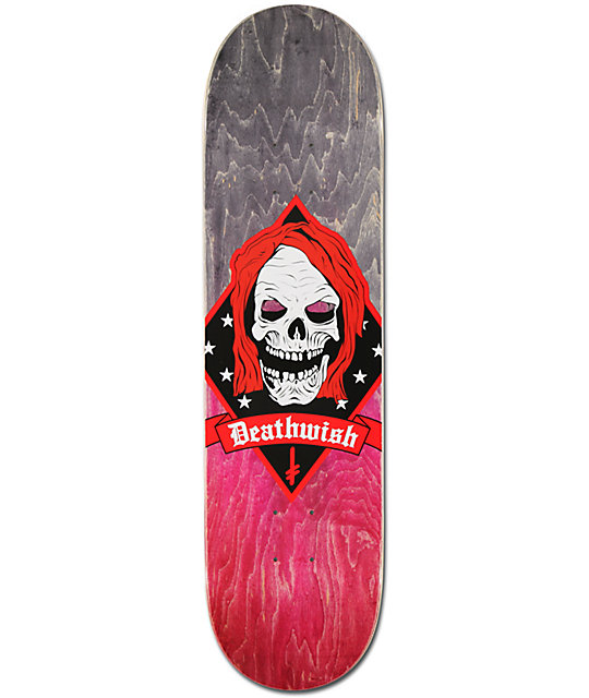 "Deathwish Born To Kill 7.87""  Skateboard Deck"