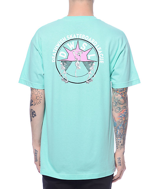 Deathwish Death Casual Mint T-Shirt