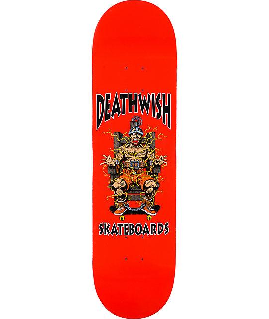 """Deathwish Death Chair 8.5""""  Skateboard Deck"""