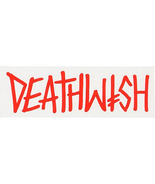 Deathwish Deathspray Red Sticker
