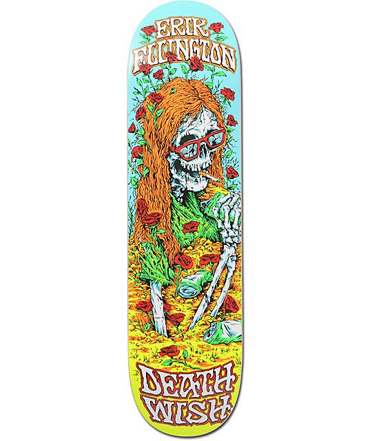 """Deathwish Ellington Buried Alive 8.125""""  Skateboard Deck"""