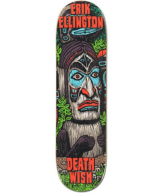 "Deathwish Ellington Ruins 8.25""  Skateboard Deck"