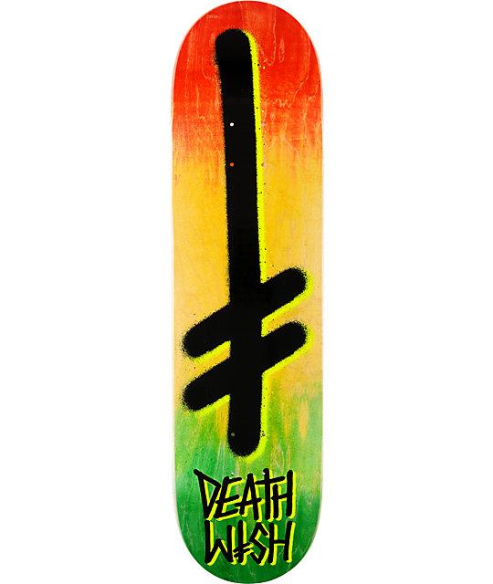 "Deathwish Gang Logo 8.125""  Skateboard Deck"