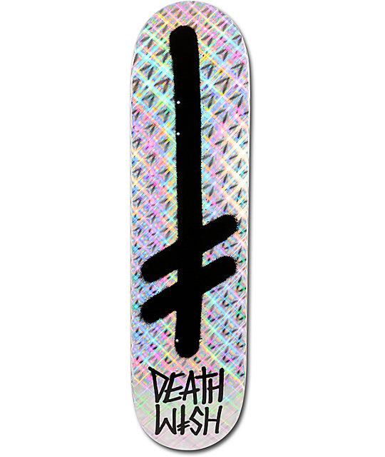 "Deathwish Gang Logo Bling 8.25""  Skateboard Deck"