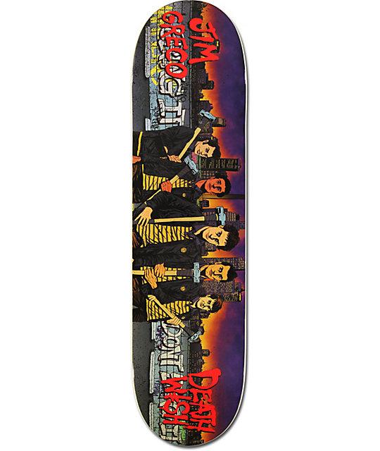 "Deathwish Jim Greco Street Gang 8.0""  Skateboard Deck"